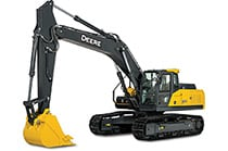 See the e300LC Excavator